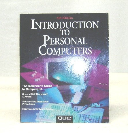 Introduction to Personal Computers; Murray