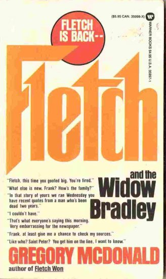 Fletch and the Widow Bradley; Gregory McDonald