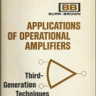 Applications of Operational Amplifiers; Jerald G Graeme