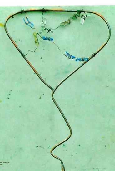 Garden stakes  copper