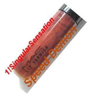 NEW MAC LIMITED EDITION Lip Varnish Gloss SPEED DEMON