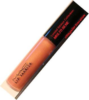 NEW LIMITED EDITION MAC Lip Varnish Gloss MOLTO BENE