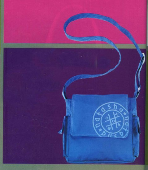NB-WIL Blue Polyester Bag
