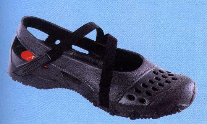 NLS-MAL Black Injected PVC Shoes