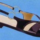 NLS-MIN Black Flat Sandals