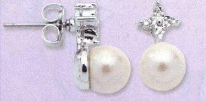 AA-PDE Pearl Earrings