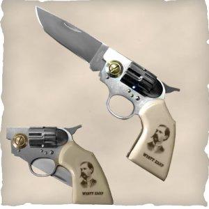 Wyatt Earp Gun Knife