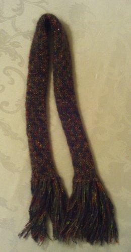Custom Knit Scarf
