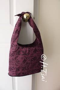 Purple Shoulder Bag