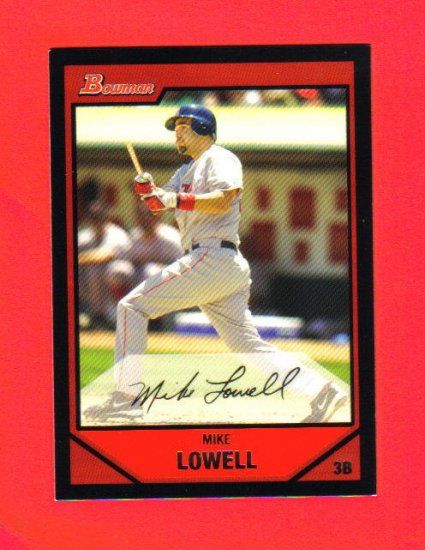 MIKE LOWELL - 2007 Topps #87
