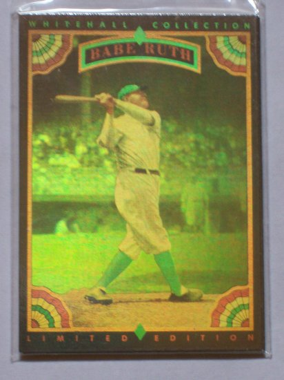 92 Whitehall Hologram Set-Ruth,Wagner,Cobb,Gehrig,Young