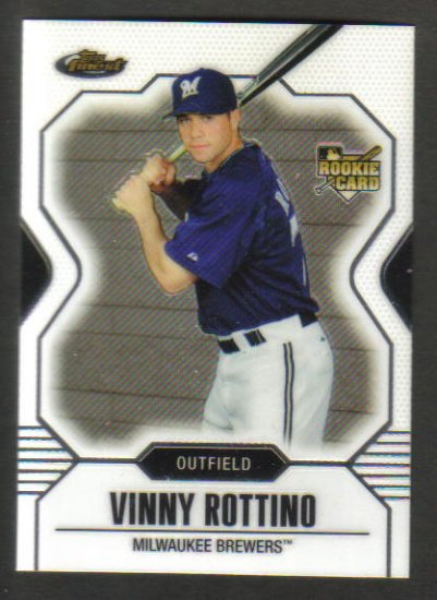 VINNY ROTTINO , 2007 Topps Finest , Rookie Card , #144