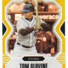 TOM GLAVINE - 2007 Topps Finest - GOLD REFRACTOR #d34/50