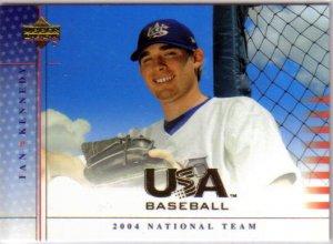 IAN KENNEDY - NY Yankees - 2004 Upper Deck USA - Rookie card #34