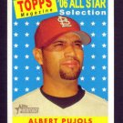 ALBERT PUJOLS - 2007 Topps Heritage All Star #476