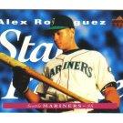 ALEX RODRIGUEZ - 1995 Upper Deck *Star Rookie* card #215