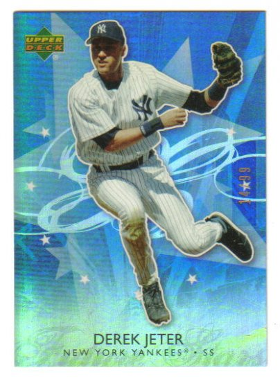 DEREK JETER - 2006 Upper Deck Future Stars - BLUE Parallel - #d 14/99