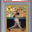 BARRY BONDS - 1987 Topps #320 Rookie card - PSA Mint 9