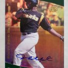 JUSTIN UPTON - 2006 Tristar Prospects Plus - Pro Debut * GOLD * ROOKIE AUTOGRAPH   #d 09/50