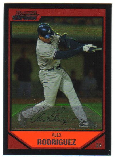 ALEX RODRIGUEZ - 2007 Topps Chrome #166
