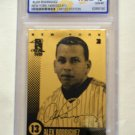 ALEX RODRIGUEZ -  23 karat  GOLD Baseball Card - 2007  - Limited Edition - WCG Gem Mint 10