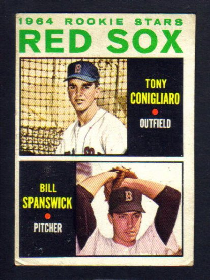 Red Sox - 1964 Topps Rookie card - TONY CONIGLIARO