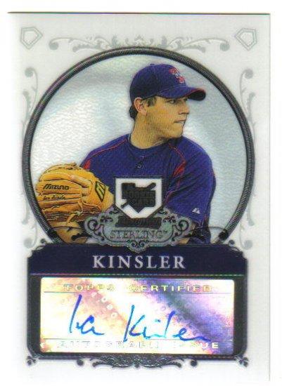 IAN KINSLER - 2006 Bowman Sterling Autograph