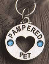 Silver Pampered Pooch Dog Tag---On Sale!!
