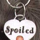 Silver Cat Tag says Spoiled---On Sale!!