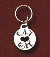 Cute Cat Tag says Fat Cat---On Sale!!