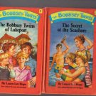 four New Edition Bobbsey Twins hardcovers
