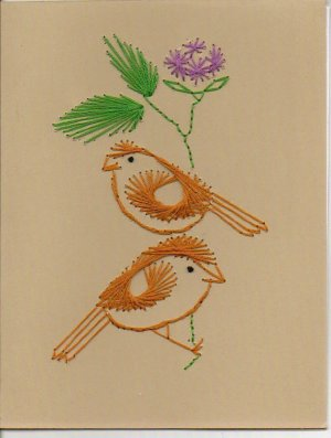 Crafty Birds Greeting Cards