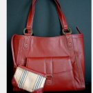 Franklin Covey Leather Business/Laptop Tote