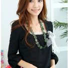3/4 Sleeve Silky Smart Blouse C0405BP