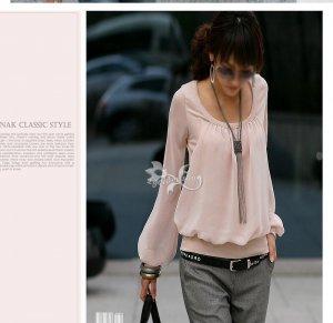 Comfy Stylish Korean Fashion Pink Tee C04765PG
