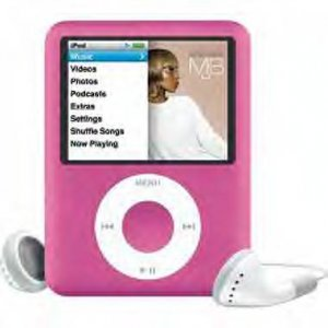 Apple iPod Pink 8GB Nano 3RD GEN.