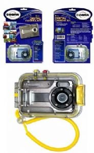 Cobra Digital 5.0 Megapixel 4*Digital Zoom Camera & Underwater Case