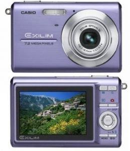 Casio 7.2MP Digital Camera With 3*Anti Shake Optical Zoom