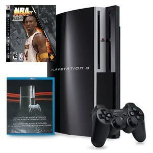 Playstation 3 40GB with Bonus Network Disc  Blu-Ray & 1 Game