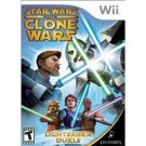 Light Saber Clone Wars Duels Wii Video Game