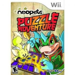 Neopets Puzzle Adventure Wii Game
