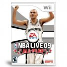 NBA Live 09 All-Play Wii Video Game
