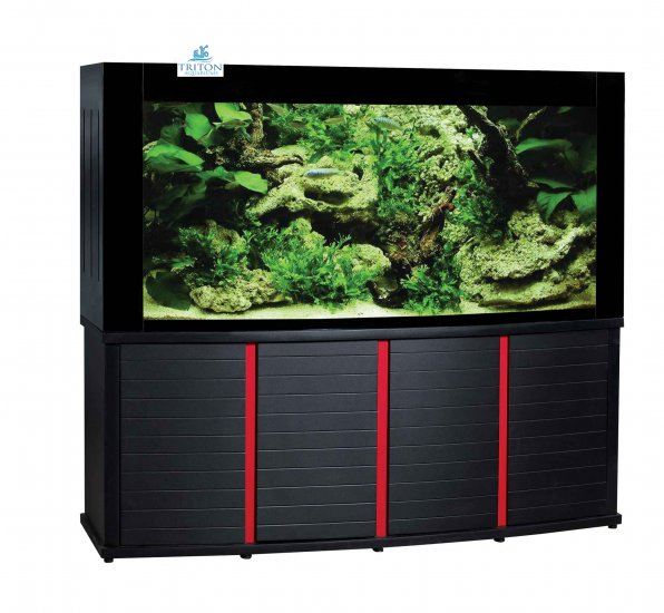 Triton 200-Gallon Designer Corner Aquarium