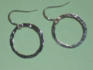 Cirlcle of Love Sterling Silver Earrings