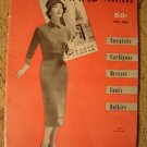 Vintage 1957 Bear Brand Knitting Pattern Book!Sweaters, Cardigans, Dresses, Coats++