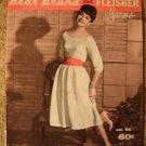 Vintage 1959 Bear Brand Knitting Pattern Book!Dresses, Jackets, Skirts +