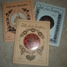Vintage Jo Sonja Jansen Tole Painting Pattern Book Lot (3 Books!):FOLK ART Sampler I,II,II