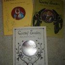 Vintage Jo Sonja Jansen Tole Painting Pattern Book Lot(3!)COUNTRY SAMPLER Vol 1,2,3 RARE/SIGNED!