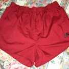 Vintage NIKE Cotton/Poly Gym SHORT Shorts! Men's L; EXC!