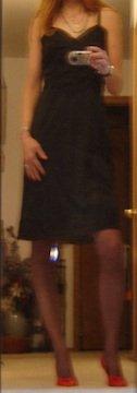 Vintage Rogers Full Dress Slip - SHEER CHIFFON, Sz. 42